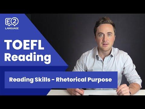TOEFL Reading Skill 6: Rhetorical Purpose with Jay!
