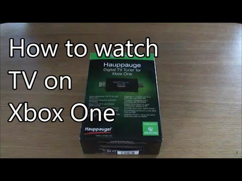 How to watch TV on Xbox One