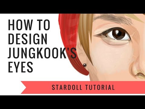 Stardoll Tutorial | How to make Jungkook's eyes | by Jungkookie... |