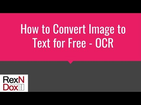 How to Convert Image to Text for Free OCR