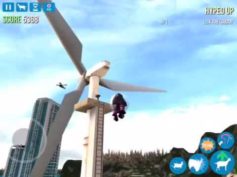 How to get the tornado goat in goat simulator iPad