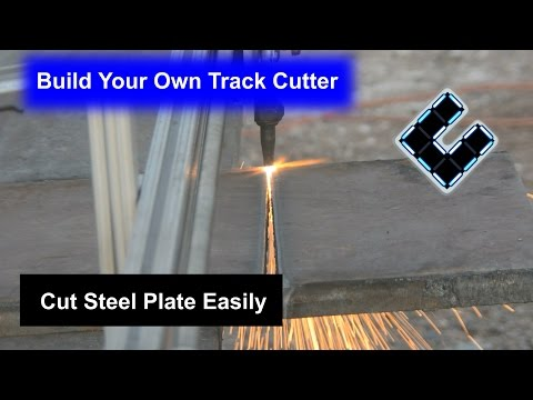 DIY Track Cutter, Cut steel sheets easily for less than $200