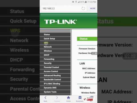 TP link router manage by mobile রাউটার মেনেজ করুন খুব সহজে