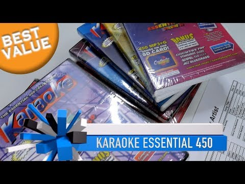 Karaoke Music Package | 4,500 Songs | BEST Professional Karaoke Music