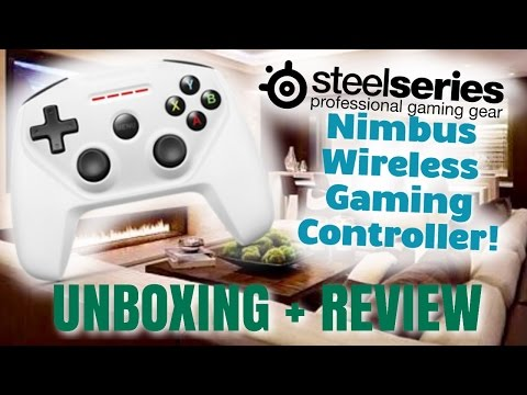 SteelSeries Nimbus Gaming Controller | Unboxing, Review & Demo