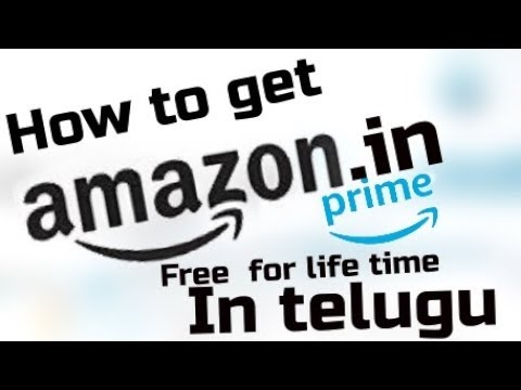 How to get amazon prime membership for free 1000% working Amazon prime for free in Telugu.