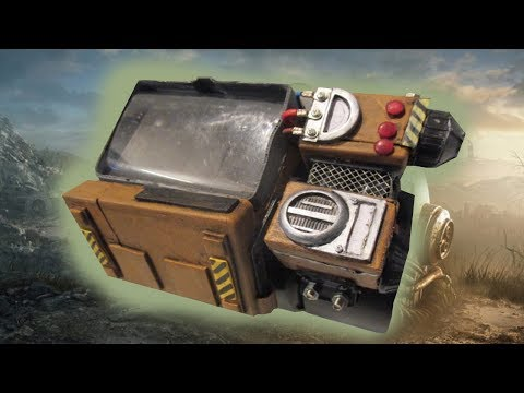 how to make a pipboy 2000 from fallout 76