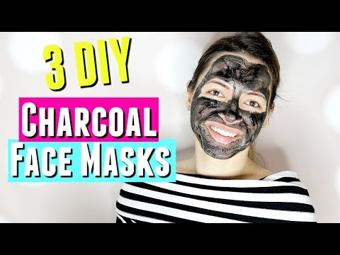 3 DIY Charcoal Masks for Acne, Anti-Aging, Pore Minimizing, & more! DIY Ultimate Charcoal Mask