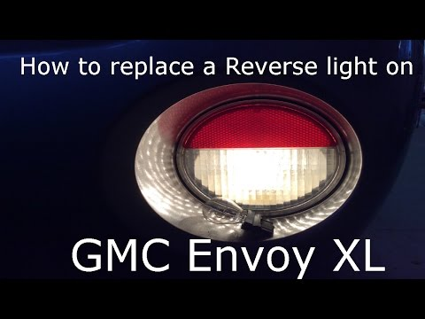Reverse Light Bulb Replacement For GMC Envoy/Chevy Trailblazer