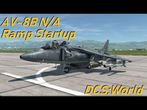 DCS:World » Ramp Startup » AV-8B N/A