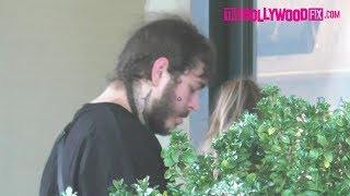 Post Malone Takes His Girlfriend Shopping At Barneys New York In Beverly Hills 6.15.17