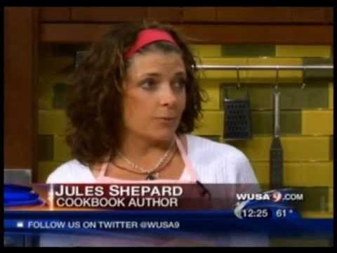 Gluten-Free desserts with Jules Shepard on WUSA 9 in Washington D.C.