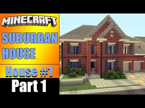 LETS BUILD A SUBURBAN HOUSE Part 1!! - House #1 S2