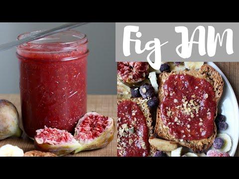 Homemade Fig Chia Jam