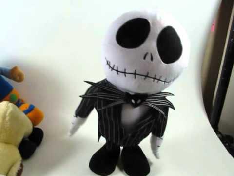 Dancing Jack Nightmare Before Christmas Here Comes Halloween Musical Doll