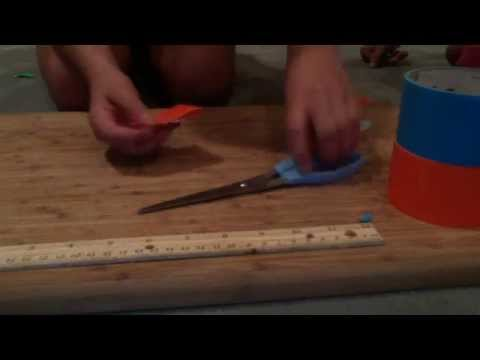 how to make duct(duck) tape bows
