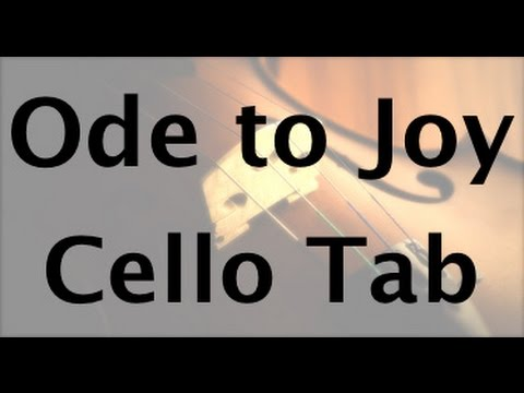 Learn Ode to Joy on Cello - How to Play Tutorial