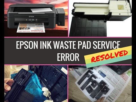 How to clean epson l210 ink pad. RESOLVED!