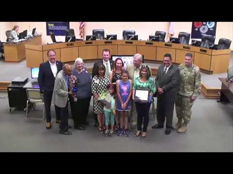 EPISD Board Recognitions May 2018