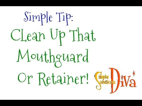 SimpleSolutionsDiva.com: Clean Up Your Mouthguard or Retainer