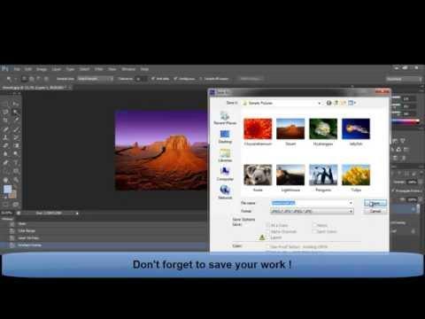 Photoshop Tutorial - Change Gradient Color