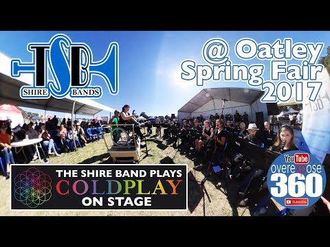 The Shire Band - Live in 360 - Plays the Oatley Fair 2017 - Coldplay On Stage