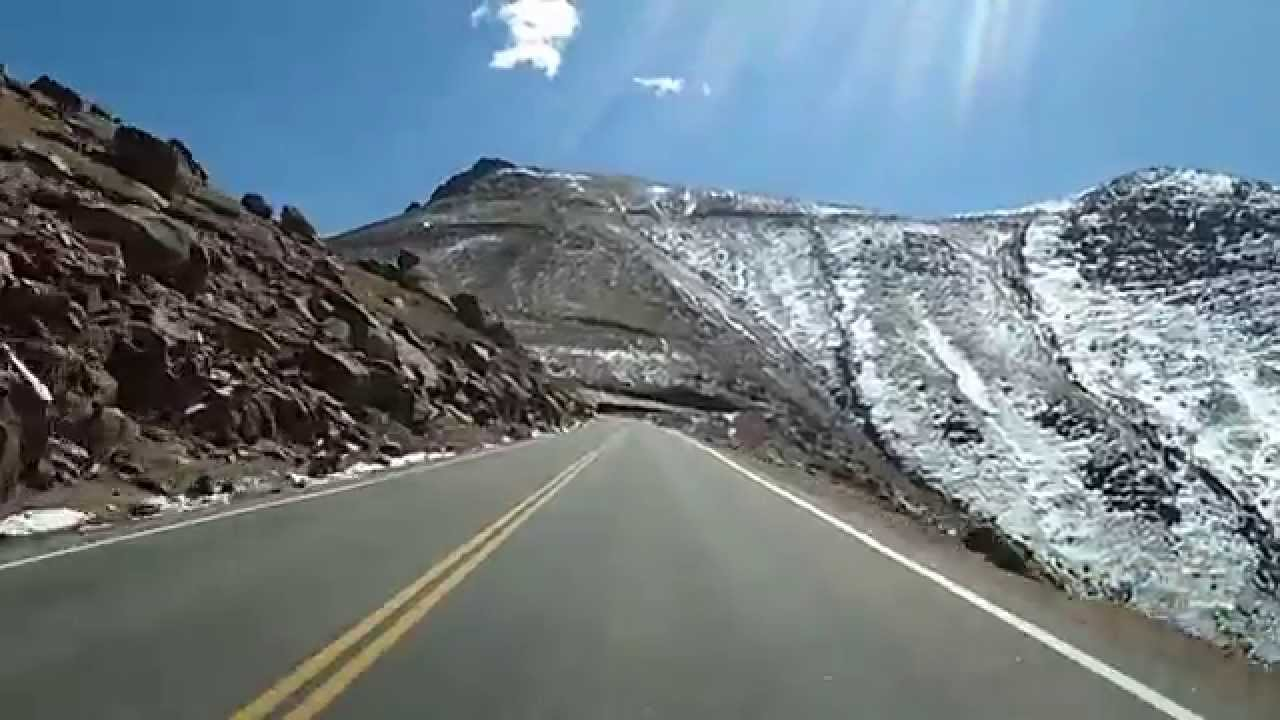 Dashcam Video of the Drive up Pike's Peak, Colorado