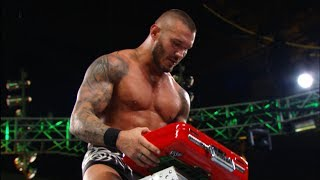 Randy Orton wins WWE Money in the Bank Ladder Match: WWE Money in the Bank 2013