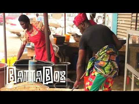 Bolly works at the Best Bukka in Lagos