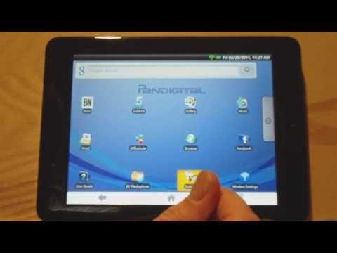 Pandigital Novel App Installation Tutorial - How To Insall Apps