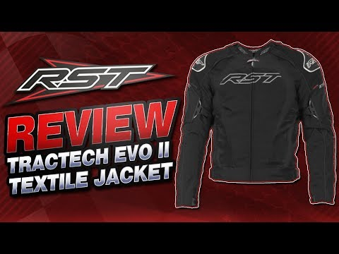 RST TracTech EVO II Armored Textile Jacket Review | Sportbike Track Gear