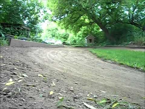 Backyard RC Dirt Oval Track