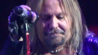 Motley Crue Home Sweet Home Vince Neil In Tears New Years 2015/16
