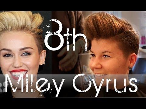 Miley Cyrus Haircut Transformation | Short Hair Inspiration | By Slikhaar Studio