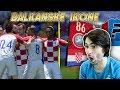 OVAKVU EKIPU NISTE NIKADA VIDJELI Balkanske Ikone 19 FIFA 18