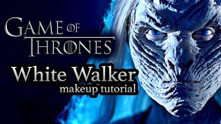 WHITE WALKER GAME OF THRONES  -  HALLOWEEN MAKEUP TUTORIAL