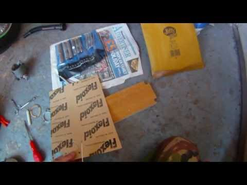 How to make a paper gasket