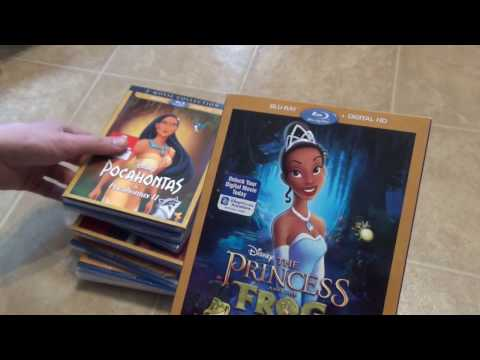 An order from Disney Movie Club - Damaged Slip Covers!