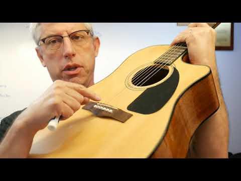 Piezoelectric Guitar Pickups - Brain Waves