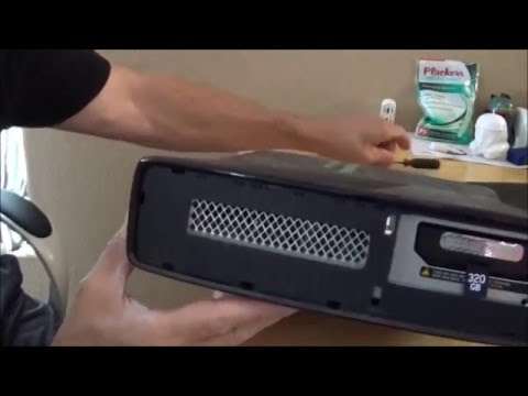 Xbox 360 Tutorial: How to take apart and clean your console