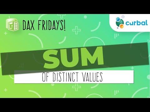 DAX Fridays #12: SUM of distinct values