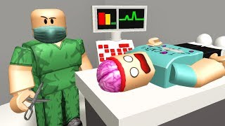 Getting Brain Surgery In Roblox
