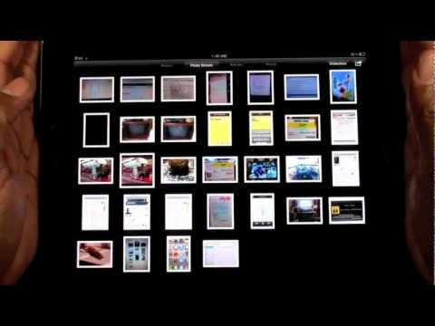 iPad: How to Setup Your Photostream (iCloud) | H2TechVideos
