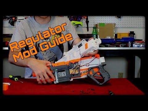 Mod Guide: Nerf Modulus Regulator (Preserving Burst Fire)