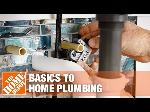 Basics of Your Home's Plumbing - The Home Depot