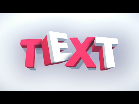 How To Make C4D Style 3D Text On Android (Pixellab)