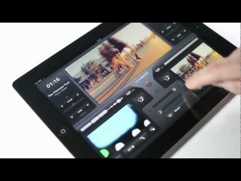 Introducing vjay - The iPad Music Video Mixing App by Algoriddim
