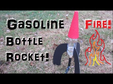 3 Awesome Bottle Rocket Launches (How to Build A Rocket)