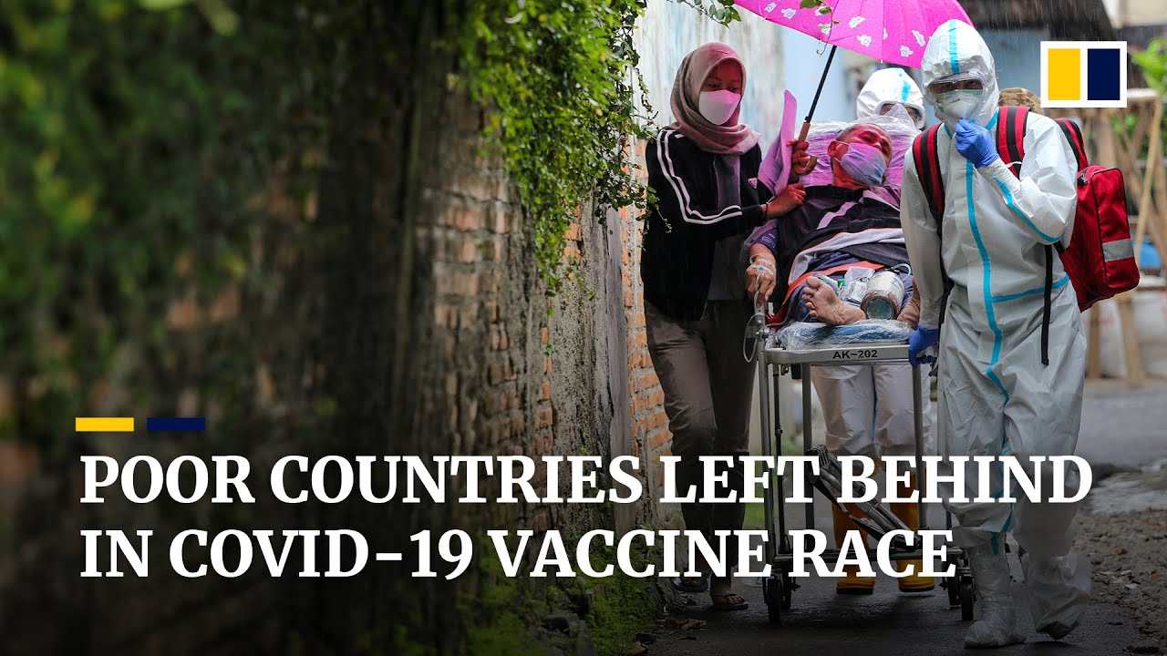 Poor countries said to be left behind in Covid-19 vaccine race as rich nations get first doses