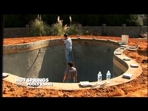 8 Steps to Building a Gunite Pool   Pool and Spa Installation   Upstate SC, Western NC